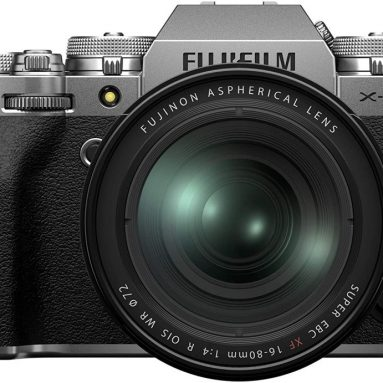 Fujfilm X-T4 Mirrorless Digital Camera XF16-80mm Lens Kit