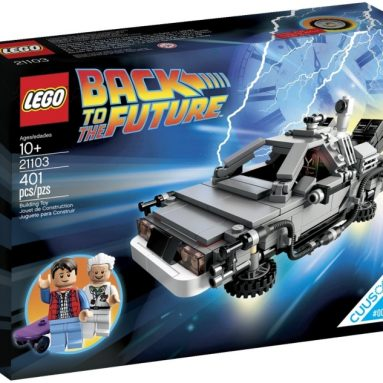 LEGO The DeLorean Time Machine Building Set