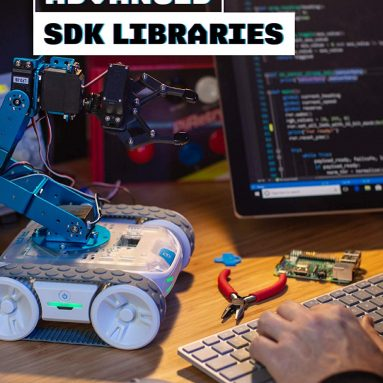 Cyber Monday: All-Terrain Programmable Coding Robot with Customizable Hardware Platform