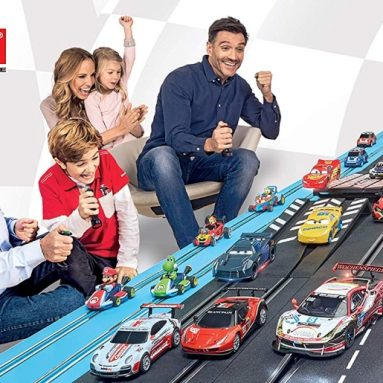 Cyber Monday: Carrera Formula Rivals Digital 132 Scale Slot Car Racing Track Set System 1:32 Scale