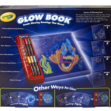 Crayola Sketcher Projector and Glow Book