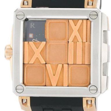 Ritmo Mundo Women's Puzzle Slide Case Automatic Watch