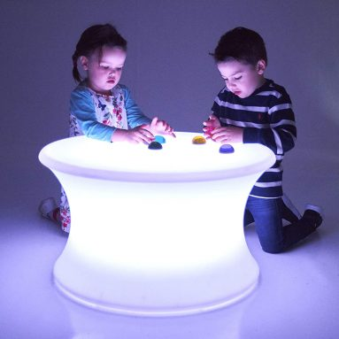 TickiT Sensory Mood Light Table – in Home Learning Station for Sensory Play