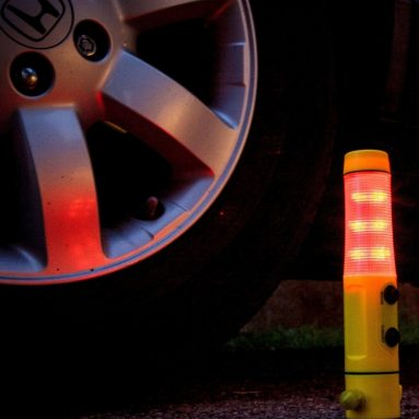 Flashing Emergency Beacon – LED Flashlight