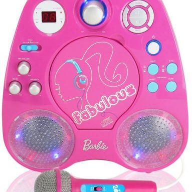 Digital Blue Barbie Karaoke