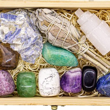 Premium Grade Crystals and Healing Stones for Relaxation, Stress, Anxiety Relief