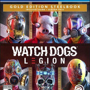 Watch Dogs Legion – PlayStation 4 Gold Steelbook Edition