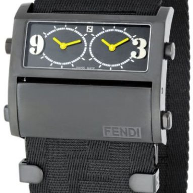 Fendi Women's Zip Code Dual Time Watch