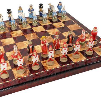 Alice in Wonderland Fantasy Chess Men Set