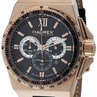 Haurex Italy Men's Yacht Chrono Brown Dial Watch