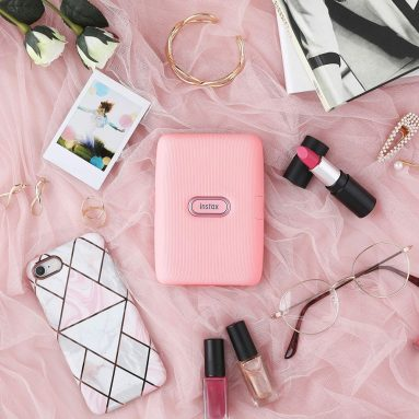 Instax Mini Link Smartphone Printer – Dusky Pink