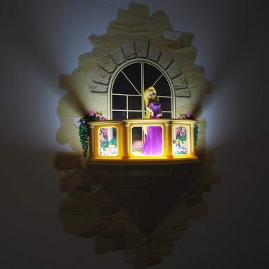 Disney Princess Rapunzel Balcony 3D Deco Light