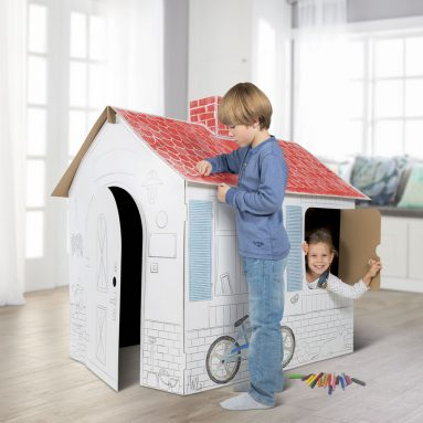 The Coloring Book Playhouse