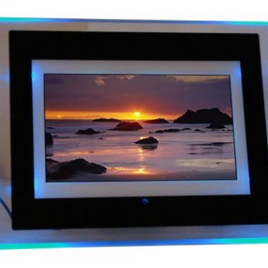 Digital Photo Frame With Blue LED