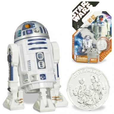 R2-D2 with Exclusive Collector Coin
