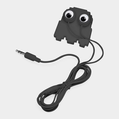 Ghost Buddy Earbuds and Cord Wrap