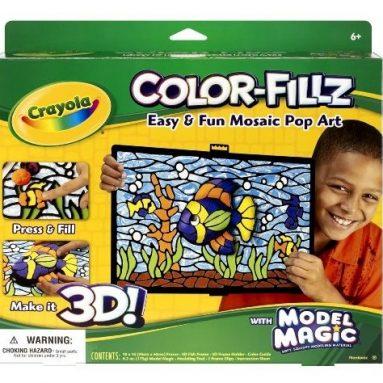 Crayola Model Magic Color Fillz 3-D Kit-Fish