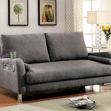 Sofa with Bluetooth Speakers