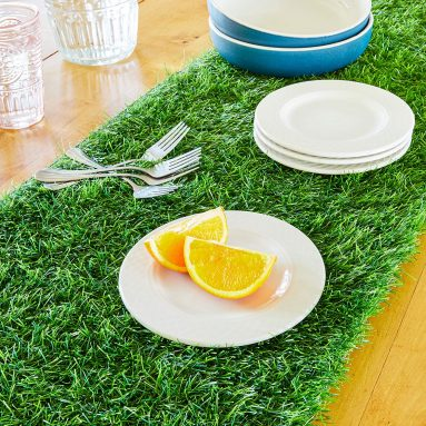 Synthetic Grass Table Runner