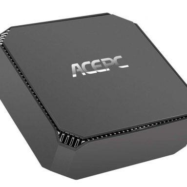 ACEPC GK2 Mini PC Intel Celeron UHD Graphics Windows 10 Micro Computer