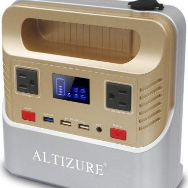 ALTIZURE Portable Power Station Portable Power Generator Solar Generator