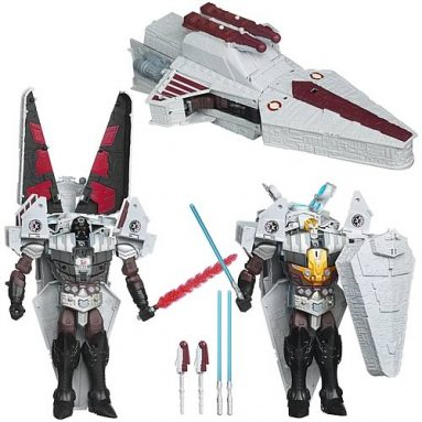 Star Wars Darth Vader Transformers Quad-Changer