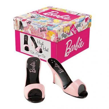 Barbie Pink Pumps Salt and Pepper Shaker Set