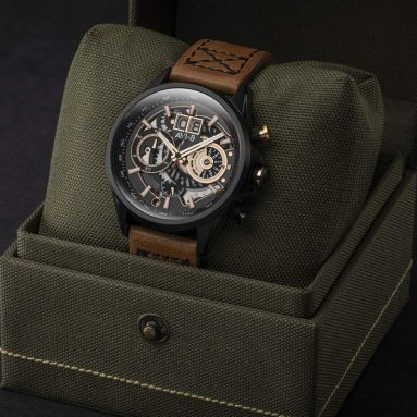 AVI-8 Men's Japanese Quartz Chronograph Watch