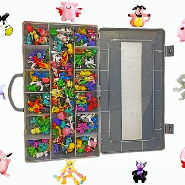 Action Figures Case Organizer With Ebook