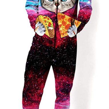 Adult Unisex 3D Printed Hoodie Pajamas