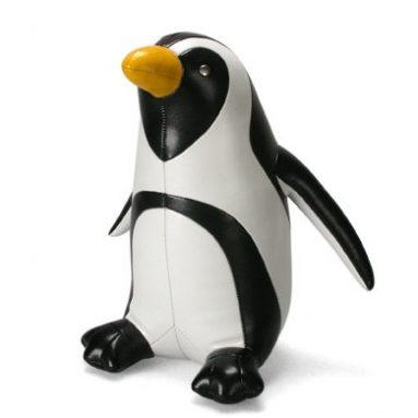 African Penguin Animal Bookend