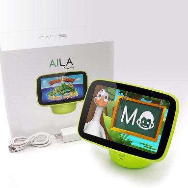 Aila Sit & Play Intelligent Parenting Monitor & Edutainment System
