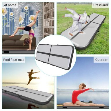Air Track Tumbling Mat for Gymnastics Inflatable Airtrack Floor Mats