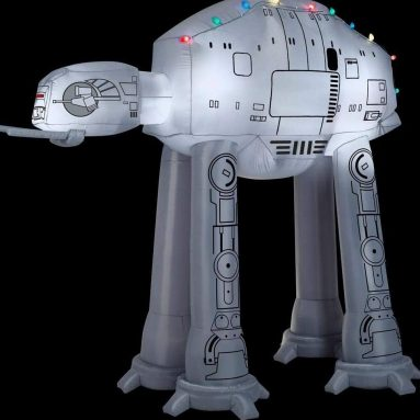 Airblown at-at w/Light String Star Wars Christmas Inflatable