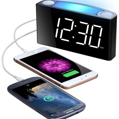 Alarm Clock with Bed Shaker