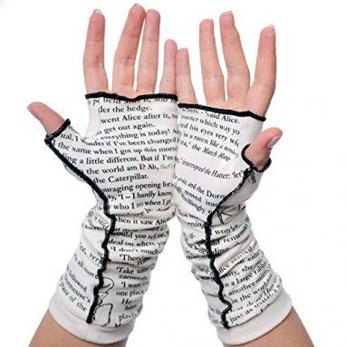Alice in Wonderland Writing Gloves