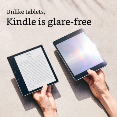 All-New Kindle Oasis E-reader – 7″ High-Resolution Display