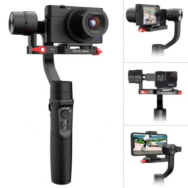 All-in-1 3-Axis Handheld Gimbal Stabilizer for Digital Camera, Action Camera and Smartphone
