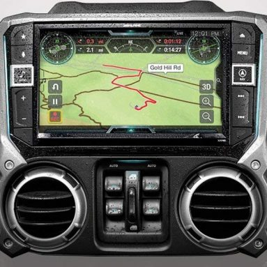Alpine Electronics X209-WRA-OR 9″ Restyle Navigation System with Off-Road Mode & Apple CarPlay & Android Auto