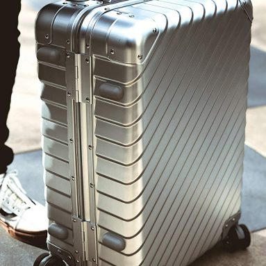 Aluminum Carry-On Suitcase Spinner