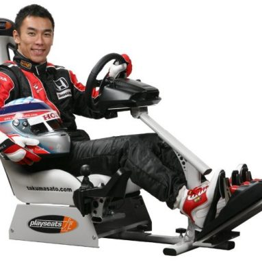 Takuma Sato Licensed Evolution Gaming Seat