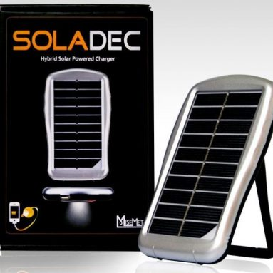 Soladec Hybrid Solar Power Charger, compatible