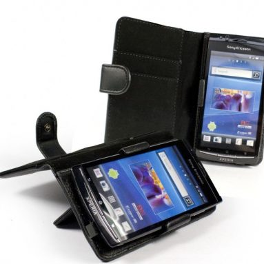 Leather Case cover  for Sony Ericsson Xperia Arc