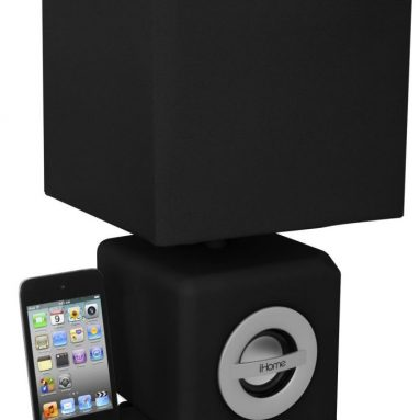 iHome Speaker Dock/LED Ambient Lamp for iPhone 4S
