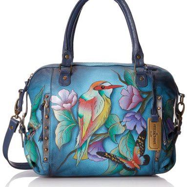 Anuschka Zip Top Medium Top Handle Bag