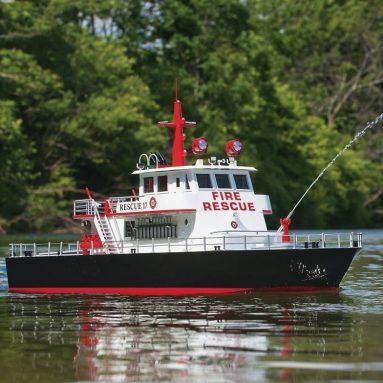 AquaCraft Models Rescue 17 Ready-to-Run Radio-Control Fireboat