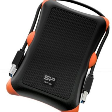 1TB Shockproof 2.5-Inch USB 3.0 External Portable Hard Drive