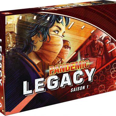 Asmodee Pandemic-Legacy PAN07RED Tray Game Red