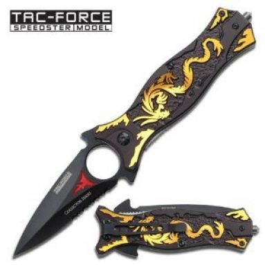 Assisted Opening Folding Knife 4.5-Inch Closed