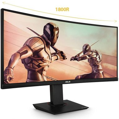 """Asus TUF Gaming VG35VQ 35"""" Curved HDR Monitor"""